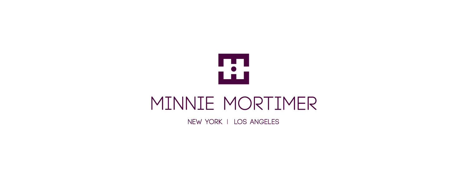Minnie Mortimer identity logotype