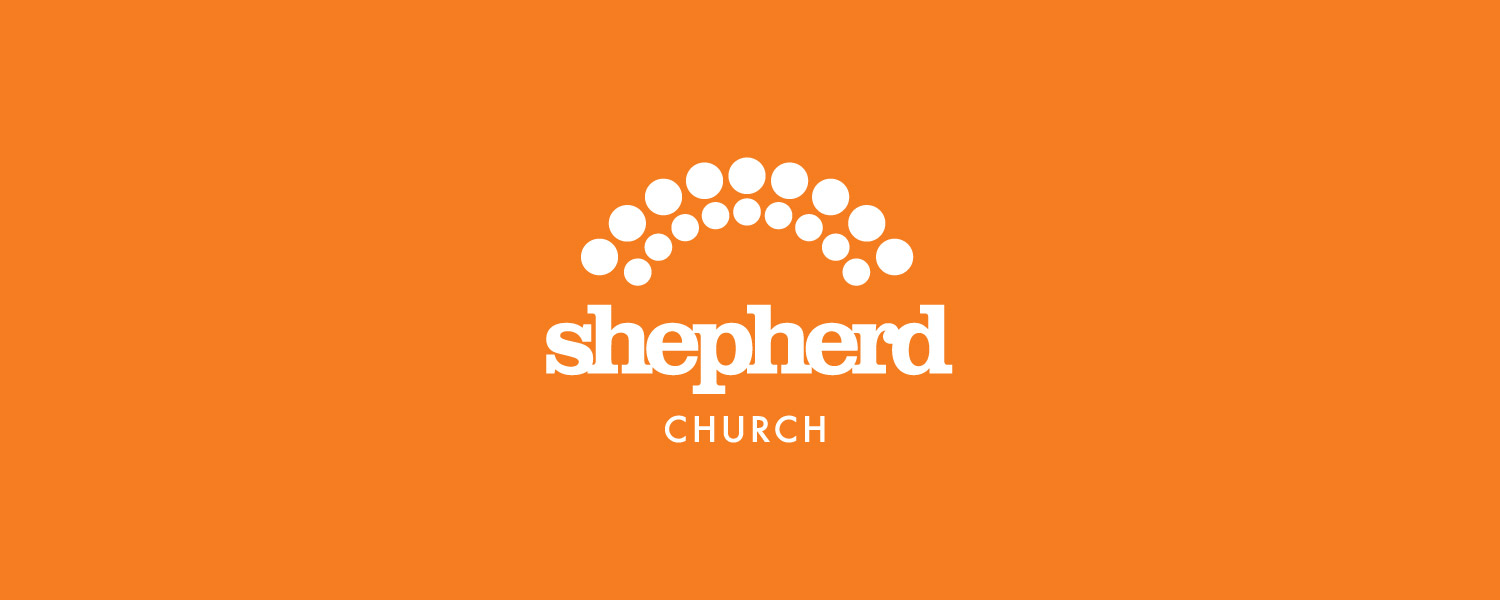 Shepherd Church logo white