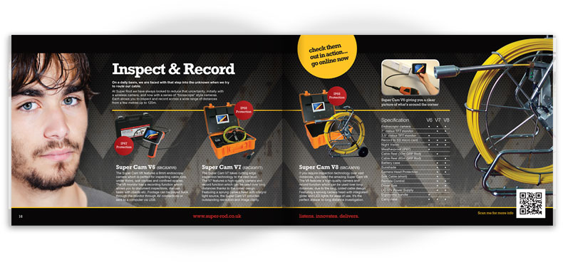 Super Rod catalogue centre pages