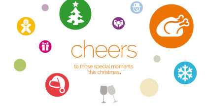 Cheers to those special moments this Christmas