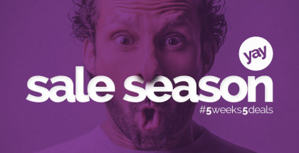 Season Sale at The CIRCLE of DESIGN with 5 weeks of fantastic deals for your business