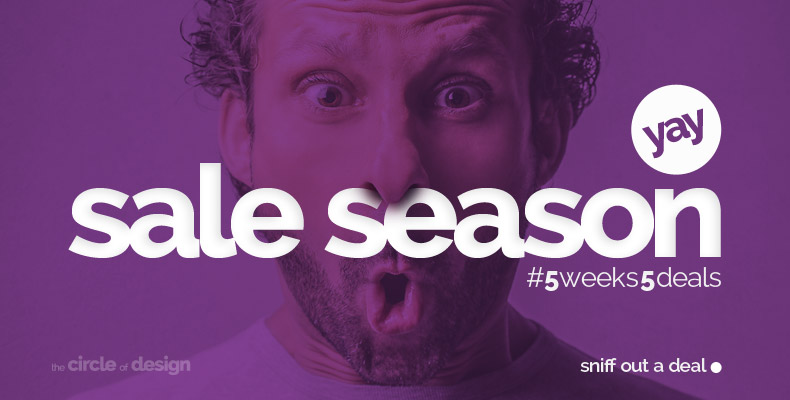 Sale Season - 5 weeks 5 deals