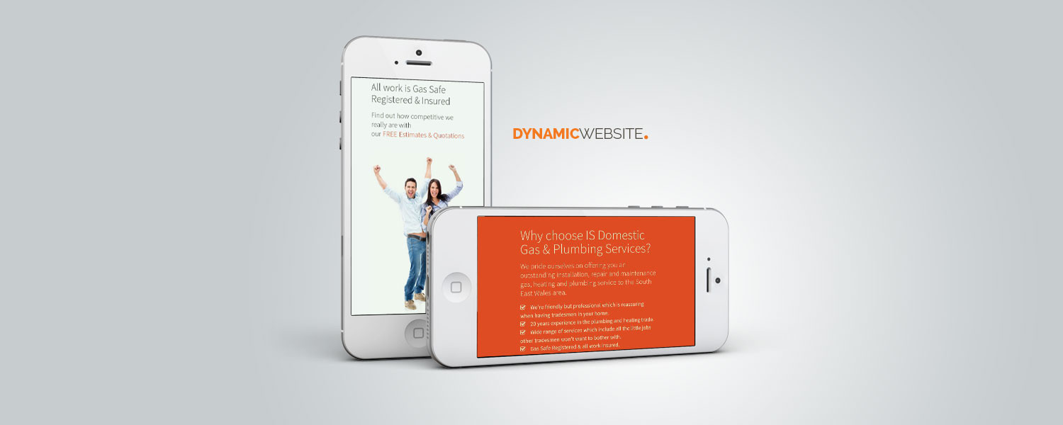 IS Gas dynamic website design